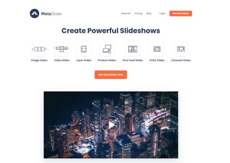 Best WordPress Slider Plugins - Meta slider