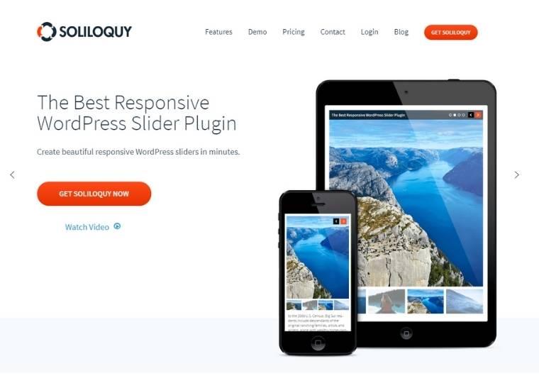 Best WordPress slider plugins - Soliloquy