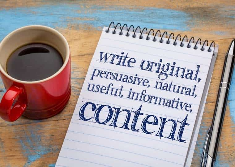 Guest blogging Writing Content